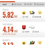 Behani Nike Plus Running - aktivity