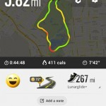 Behani Nike Plus Running - mapa