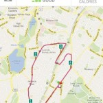 Behani RunKeeper - mapa