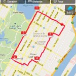 Behani Runtastic - mapa
